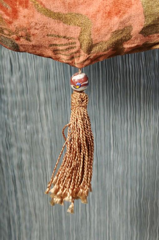 Gallenga Stenciled Velvet Bag 4