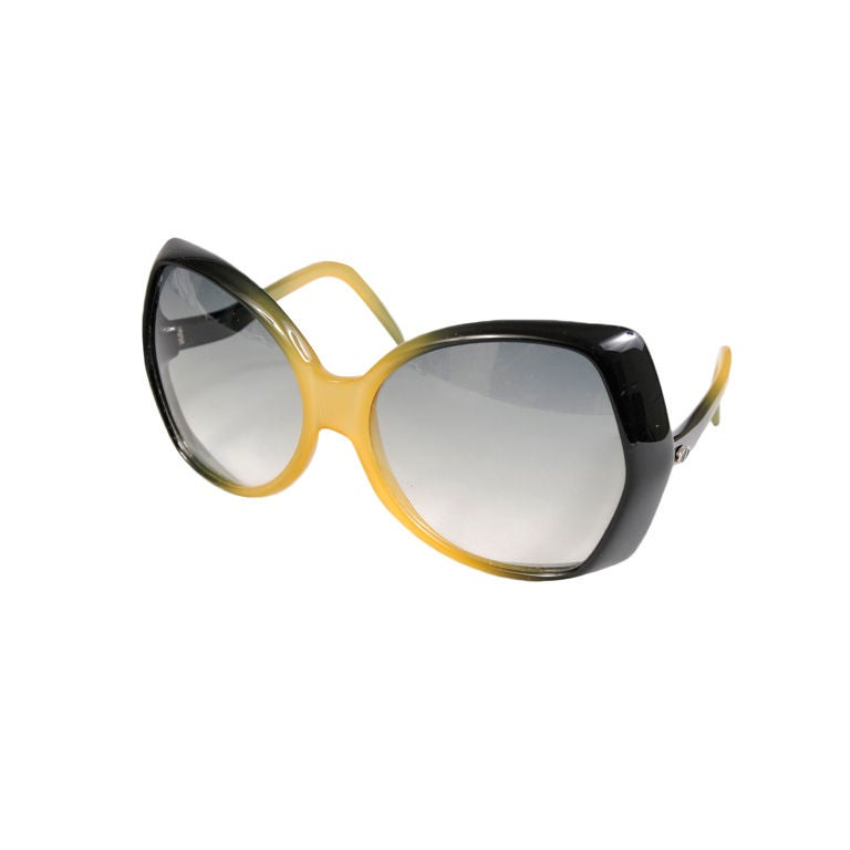 b01e51daa17 Christian Dior Oversized Shield Sunglasses