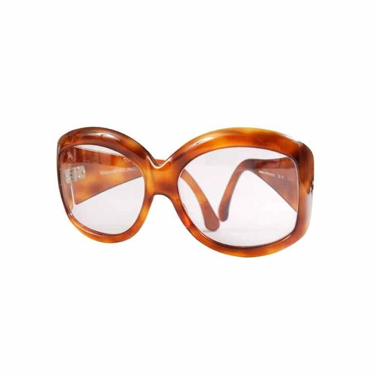 Robert Morel Tortoise Sunglasses