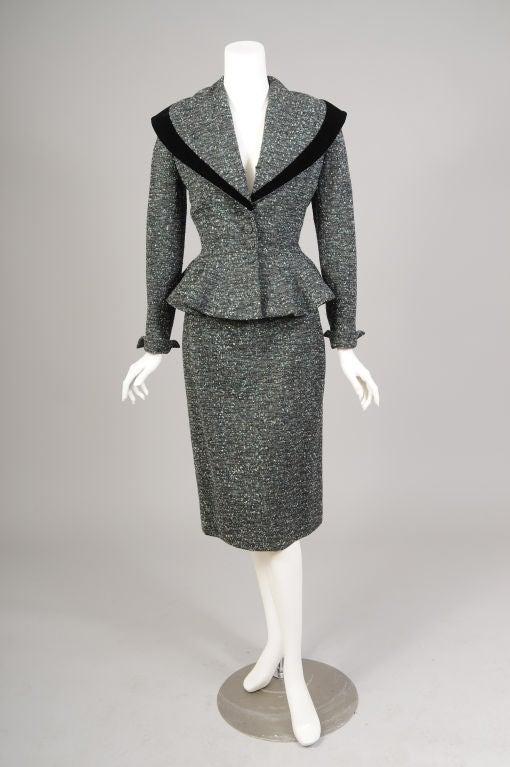 Lilli Ann Tweed Suit image 2