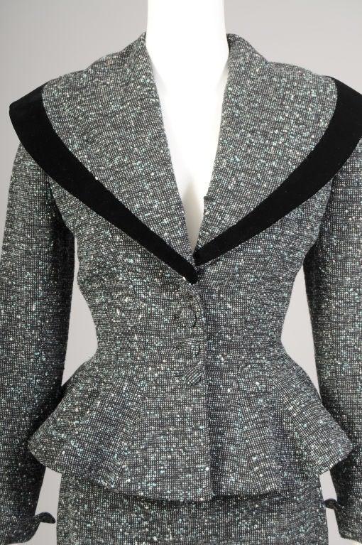 Lilli Ann Tweed Suit image 3