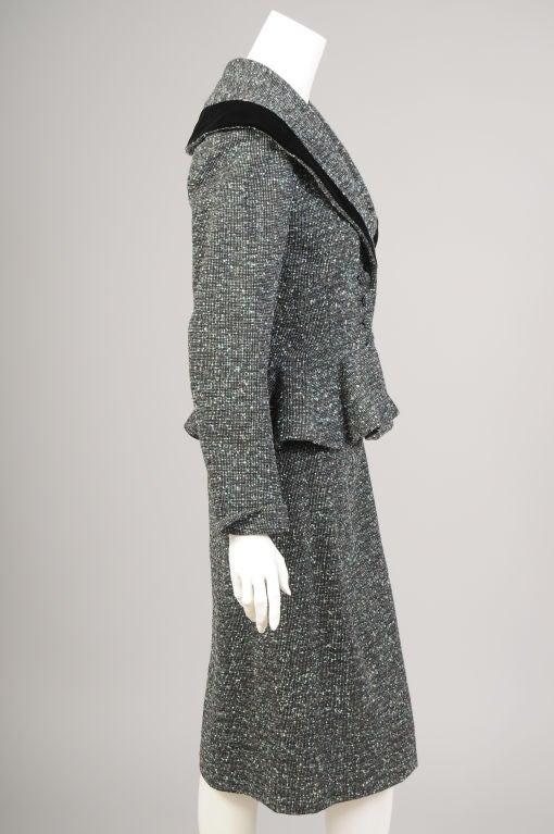 Lilli Ann Tweed Suit image 4