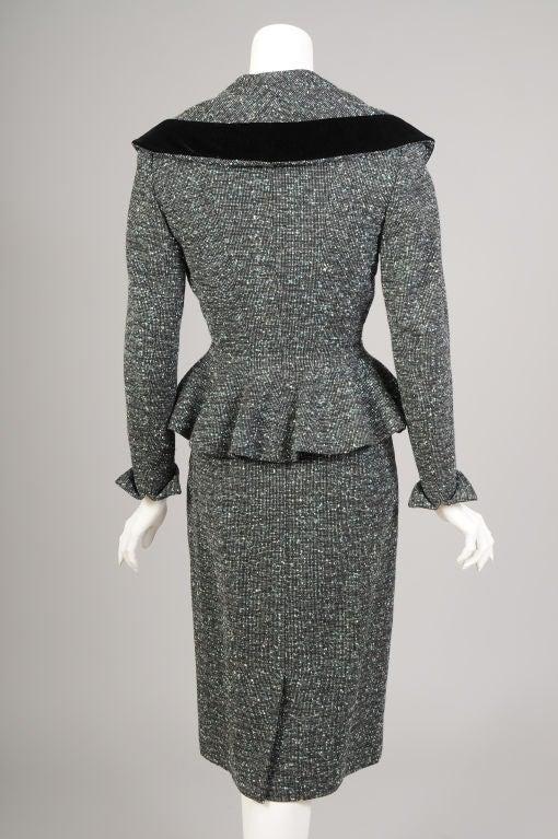 Lilli Ann Tweed Suit image 5