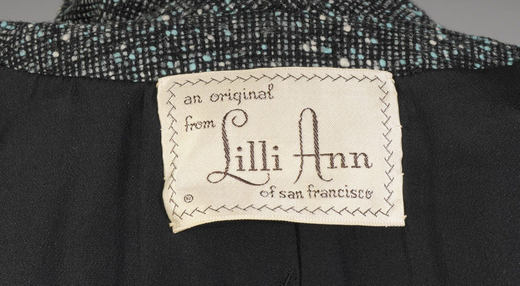 Lilli Ann Tweed Suit image 6