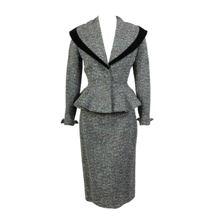 Lilli Ann Tweed Suit