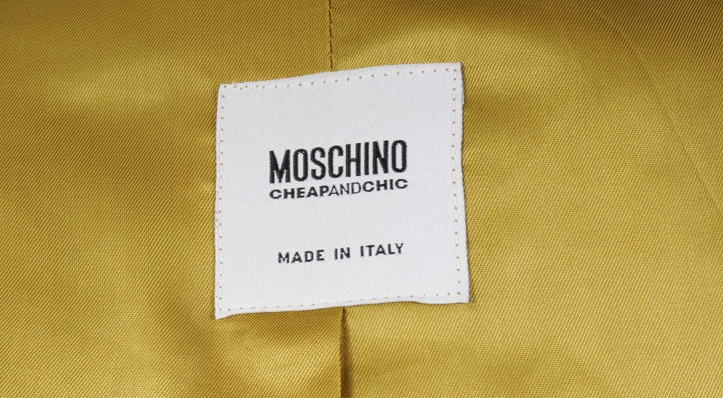 Moschino Suit , Which Came First... 4