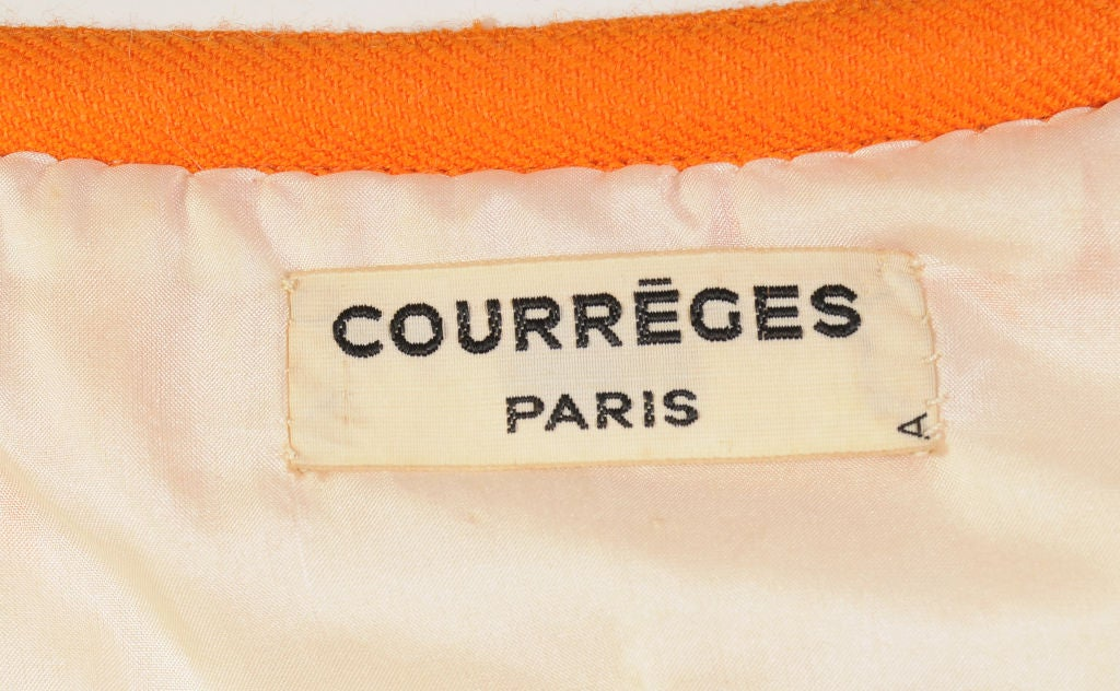 courrreges haute couture designed for florence knoll at 1stdibs