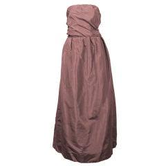 Sybil Connolly Draped Silk Gown