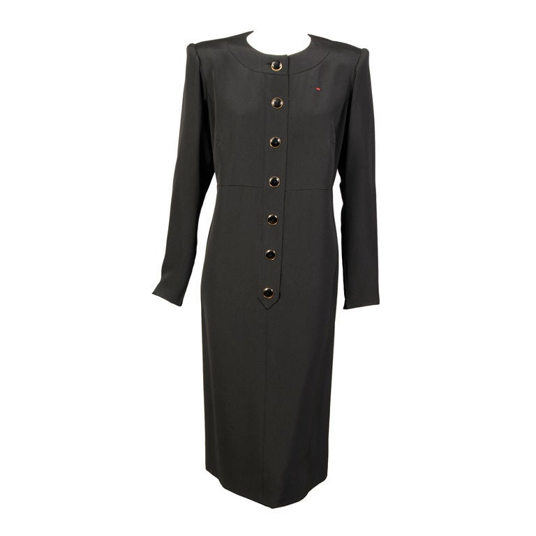 Yves saint laurent haute couture dress at 1stdibs for Haute couture dress price