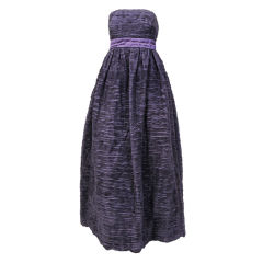 Sybil Connolly Pleated Linen Gown