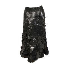 Angelo Tarlazzi Graduated Sequin Skirt