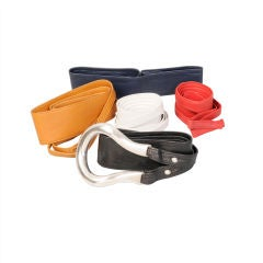 Elsa Peretti Buckle & 5 Belts