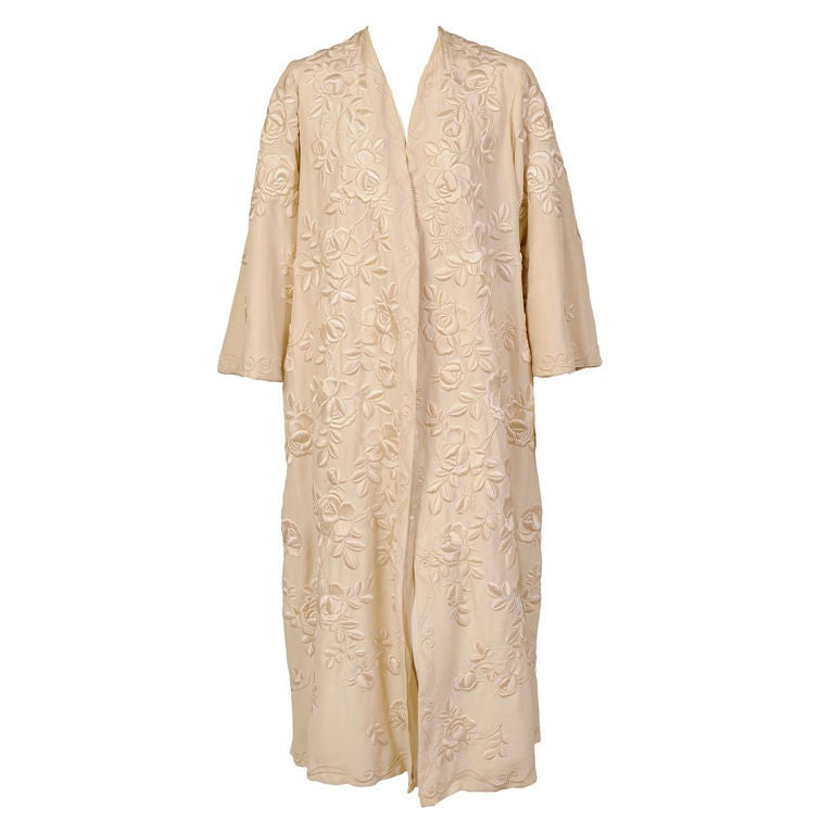 Exquisite Chinese Hand Embroidered Coat 1