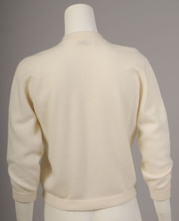 Nautical Cashmere Sweater image 4