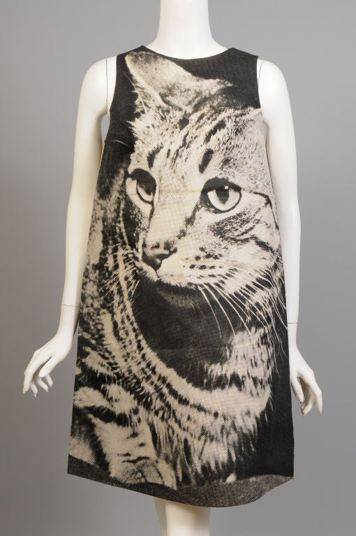 London Series Poster Dress, The Cat 2
