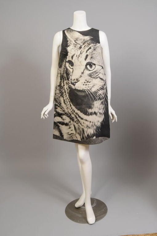 London Series Poster Dress, The Cat 3