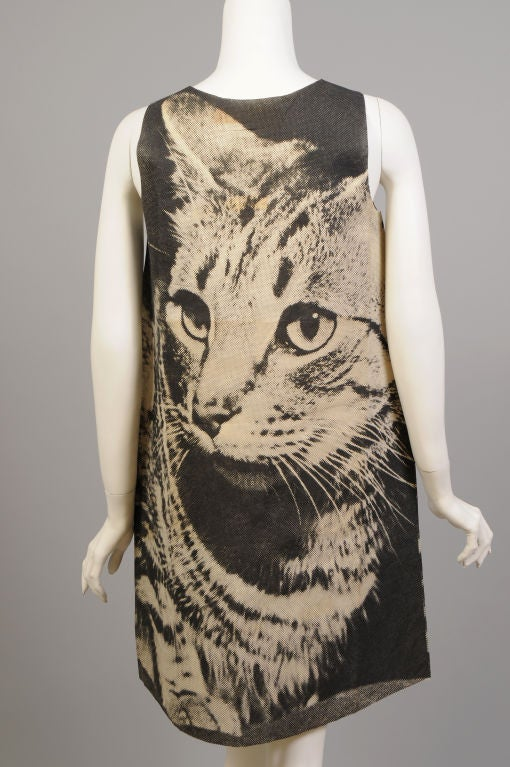 London Series Poster Dress, The Cat 5