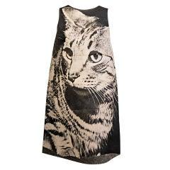 London Series Poster Dress, The Cat