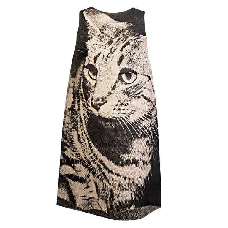 London Series Poster Dress, The Cat 1