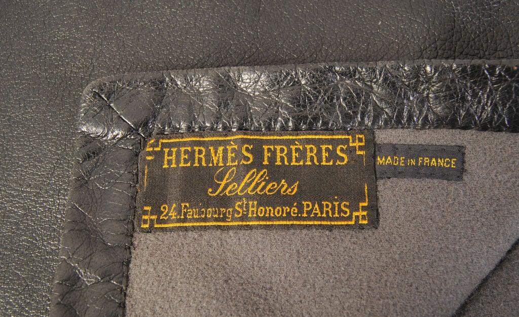 hermes inspired wallet - Vintage Hermes Leather Blanket at 1stdibs