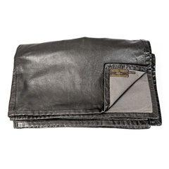 Vintage Hermes Leather Blanket
