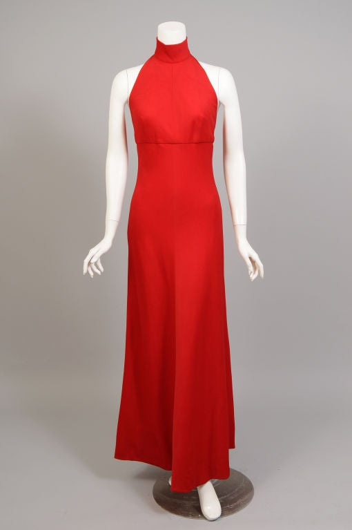 Stavropoulos Cashmere Halter Dress 2