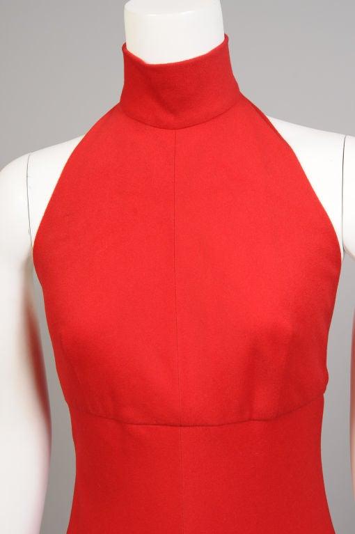 Stavropoulos Cashmere Halter Dress 3