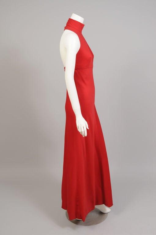 Stavropoulos Cashmere Halter Dress 4