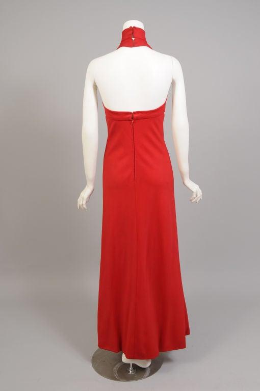 Stavropoulos Cashmere Halter Dress 5
