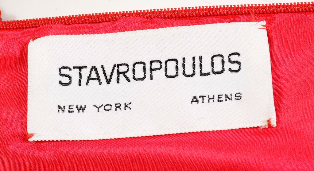 Stavropoulos Cashmere Halter Dress 6