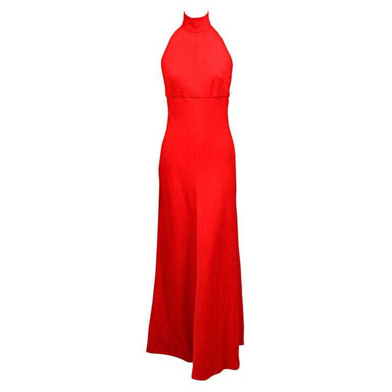 Stavropoulos Cashmere Halter Dress 1