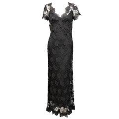 Collette Dinnigan Lace Dress