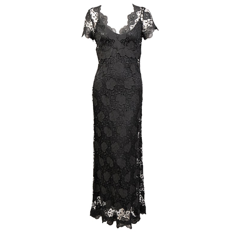 Collette Dinnigan Lace Dress at 1stdibs