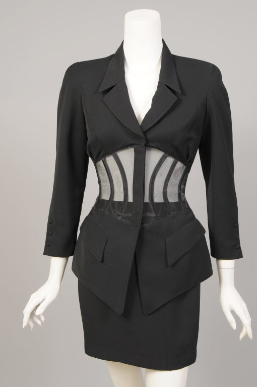 Thierry Mugler Corset Suit image 2