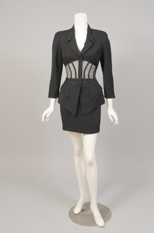 Thierry Mugler Corset Suit image 3