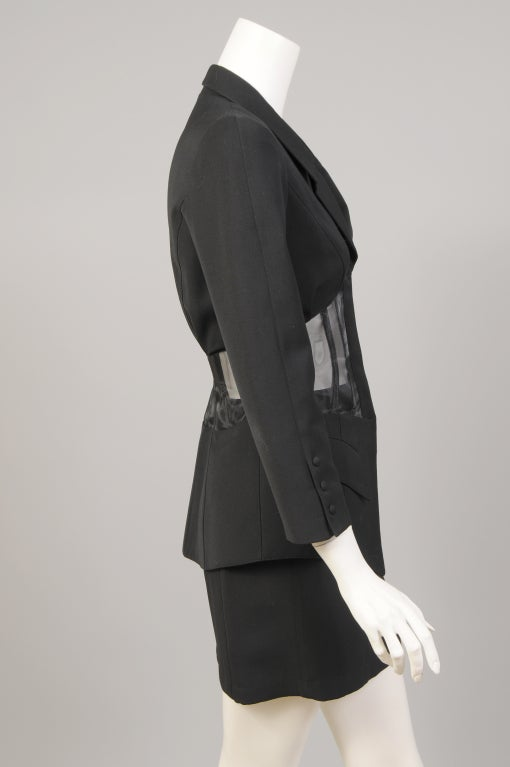 Thierry Mugler Corset Suit image 4