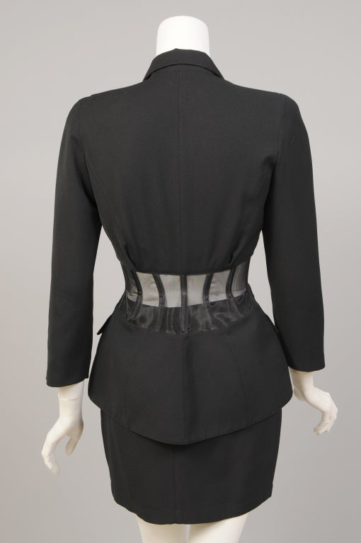 Thierry Mugler Corset Suit image 5