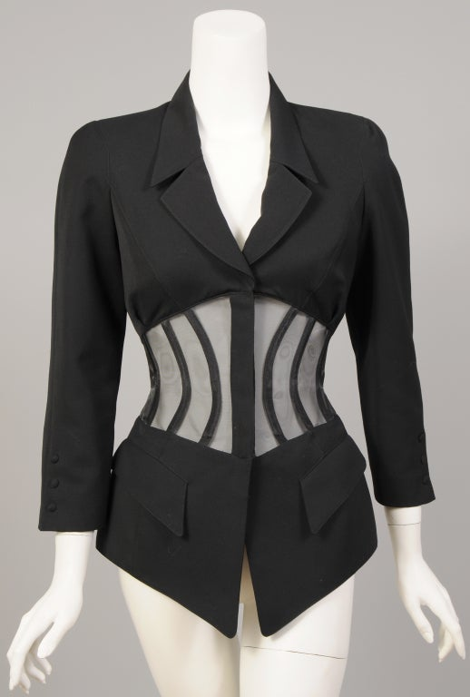 Thierry Mugler Corset Suit image 6