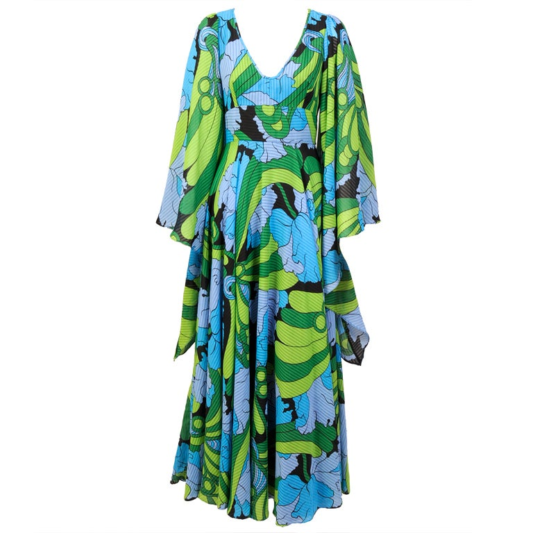 Jean Varon Butterfly Sleeve Dress