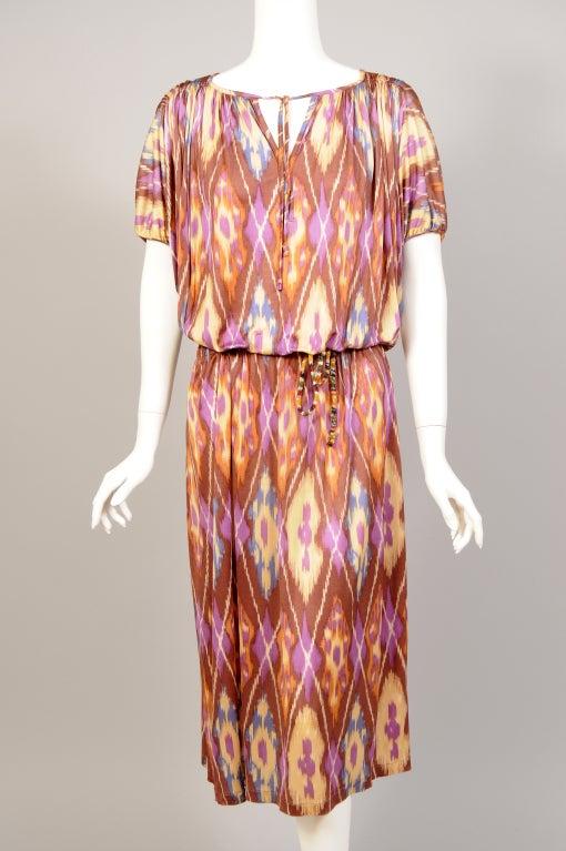 Missoni Ikat Print Dress image 2