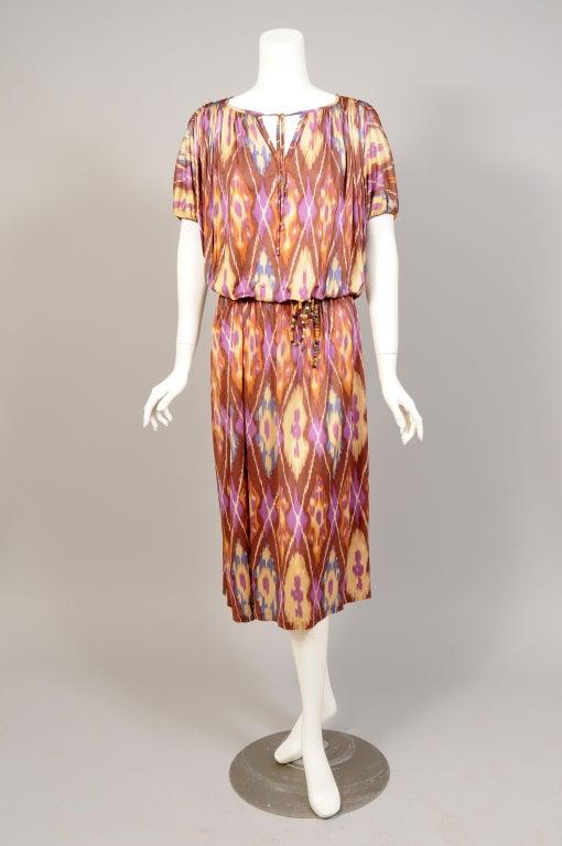 Missoni Ikat Print Dress image 3