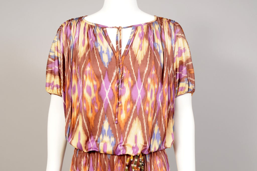 Missoni Ikat Print Dress image 4