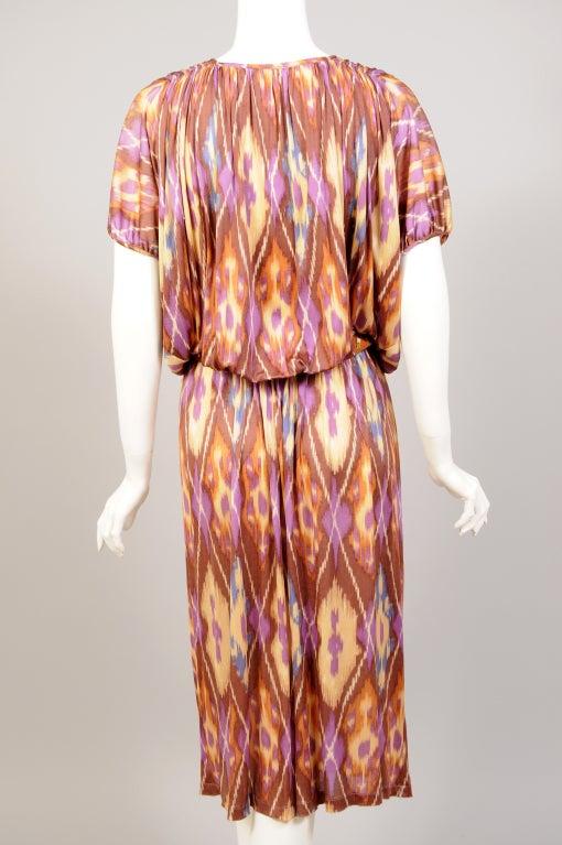 Missoni Ikat Print Dress image 6