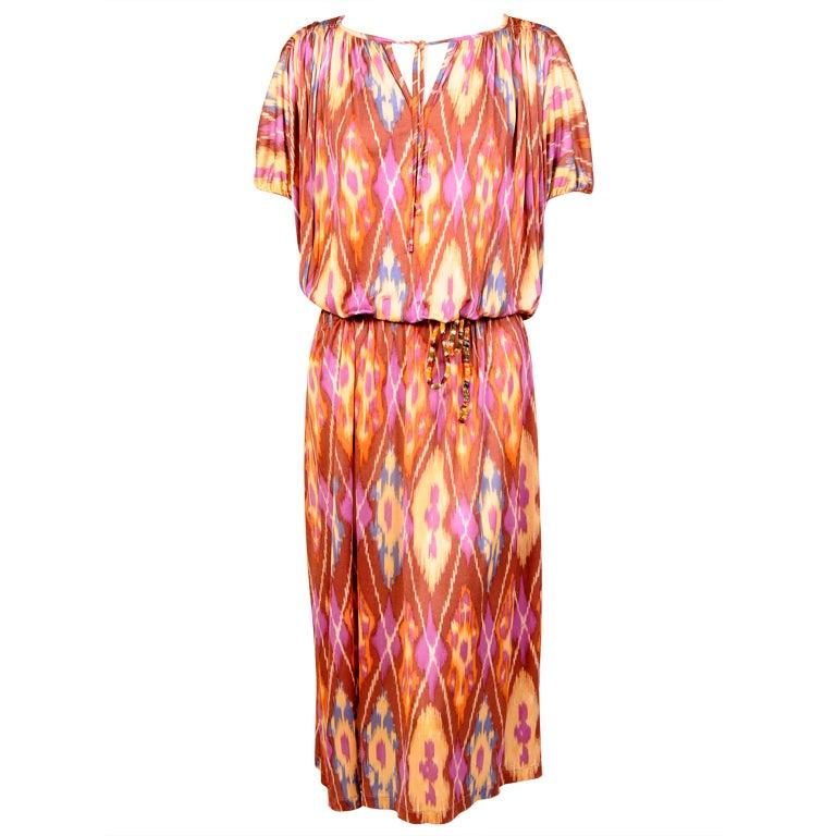 Missoni Ikat Print Dress