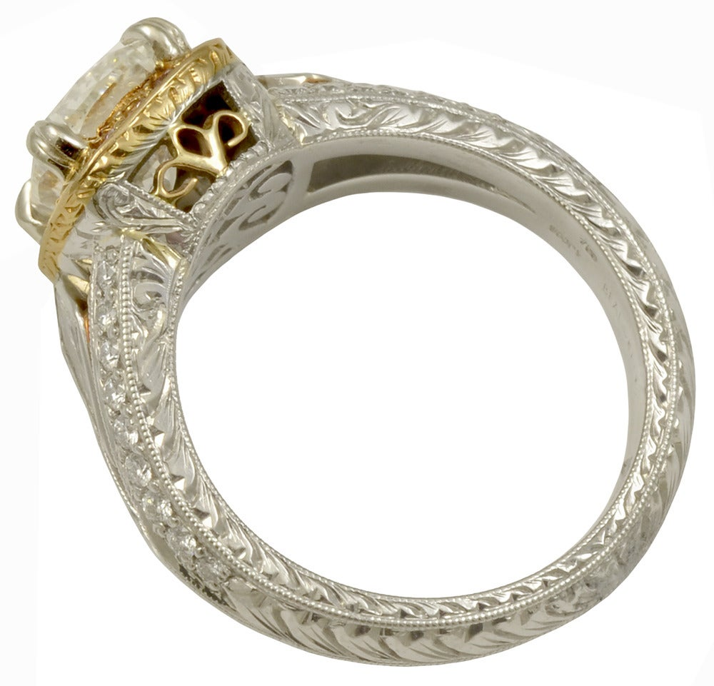Michael Beaudry Cushion Diamond Platinum Ring At 1stdibs. Gold Ankle Chain. Box Watches. Junior Rings. 3ct Emerald. Sterling Silver Jewelry. Detailed Wedding Rings. Big Gold Stud Earrings. Chunky Gold Bangle