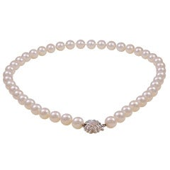 Tiffany & Co. 8.5-9mm Cultured Pearl Necklace