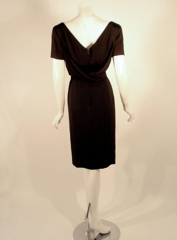 Sleeve W Vintage Black Cocktail Dresses