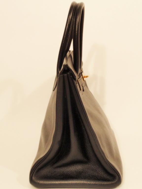 Hermes Black Birkin 35 cm Bag at 1stdibs