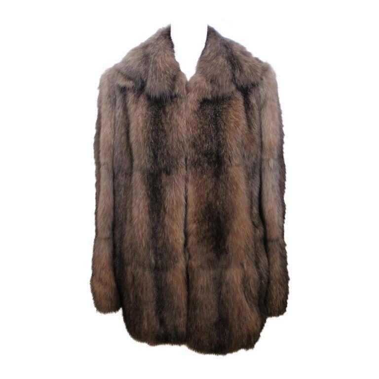 Fendi Sable Fur Coat
