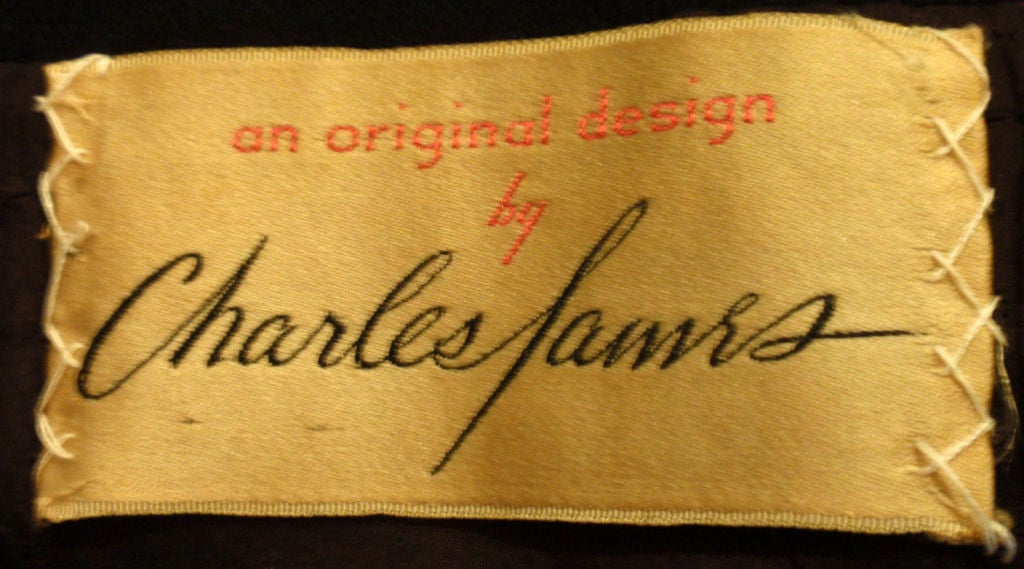 Charles James Rare Black Wool Blazer, Circa 1940 In Good Condition For Sale In Los Angeles, CA